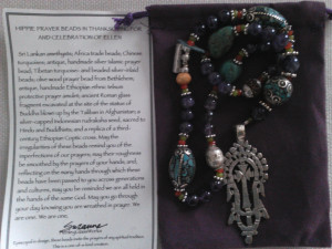 """Hippie"" Prayer Beads"